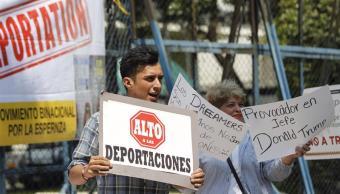 'Dreamers' protestan en El Paso, Texas, contra política migratoria de Trump