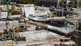 Rescatan cuerpo de última víctima de colapso de puente en Florida