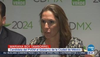 PVEM presenta a su candidata al Gobierno de la CDMX
