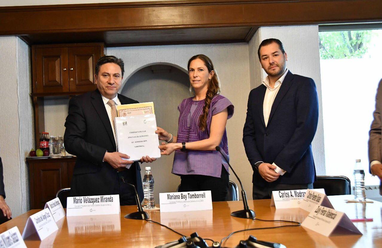 Mariana Tamborrell se lanzó como candidata a la jefatura de CDMX