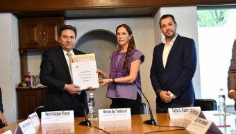 PVEM registra a Mariana Boy Tamborell como su candidata a jefa de Gobierno