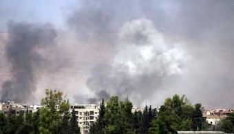 Rebeldes sirios Guta Oriental anuncia alto fuego negociar