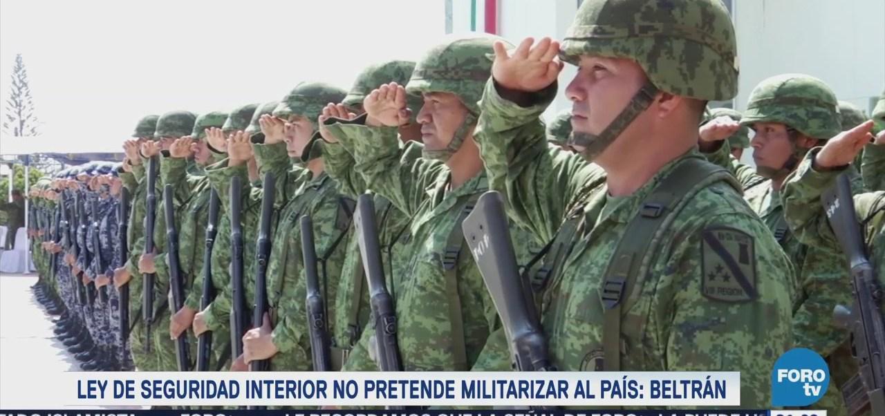 Rechazan que ley de seguridad interior militarice al país