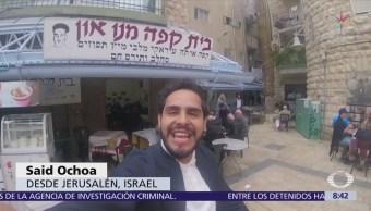 Recorrido por un mercado tradicional en Jerusalén