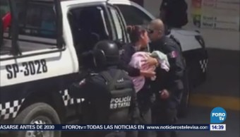 Recuperan Una Bebé Robada Hospital Regional Veracruz