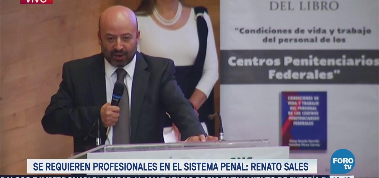 Renato Sales reconoce al personal de centros penitenciarios federales