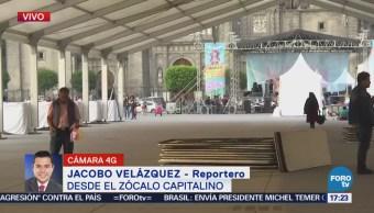 Reportan saldo blanco tras festival de las Mujeres en el Zócalo