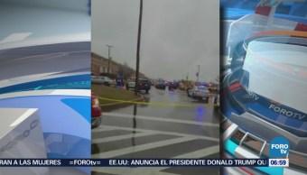 Reportan tiroteo en escuela secundaria de Maryland, EU