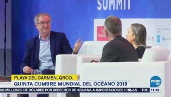 Representantes de varios países acuden a Cumbre Mundial del Océano 2018
