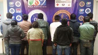 Rescatan en Mexicali a 10 migrantes secuestrados
