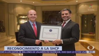 Revista 'Latin Finance' reconoce a SHCP como mejor Ministerio de Finanzas