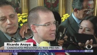 Ricardo Anaya critica lista de candidatos plurinominales del PRI