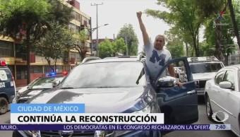Rinden homenajes a víctimas del sismo 19S en la CDMX