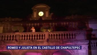 Romeo y Julieta en el Castillo de Chapultepec