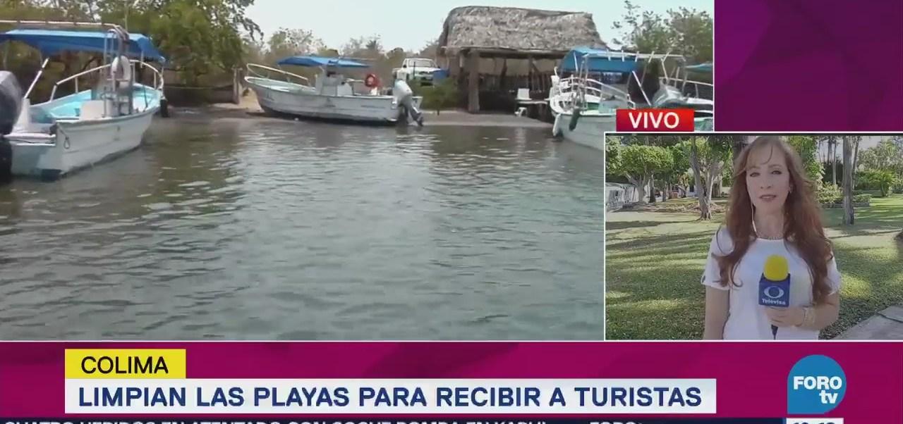 Limpian Playas Recibir Turistas Colima
