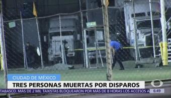 Se registra balacera en cancha de futbol de Tlatelolco, CDMX