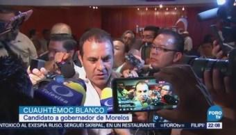 Registra Cuauhtémoc Blanco Candidato Gubernatura