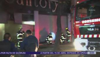 Se registran dos incendios en la CDMX