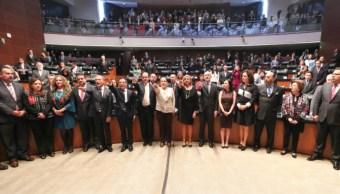 pleno senado rafica nombramientos embajadores europa caribe y africa