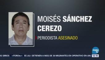 Sentencian a homicidas del periodista Moisés Sánchez