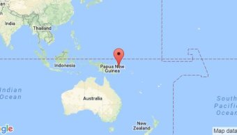 Sismo magnitud 6 9 costa Papúa Nueva Guinea