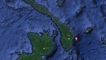 Se registra sismo de magnitud 6.6 en Papúa Nueva Guinea. (Google Maps)