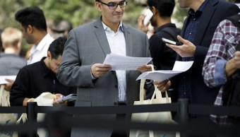 Solicitudes por desempleo caen por mercado laboral sólido