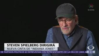 Spielberg comenzará en 2019 rodaje de nueva cinta de Indiana Jones