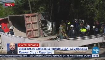 Suman Tres Personas Muertas Accidente Huixquilucan