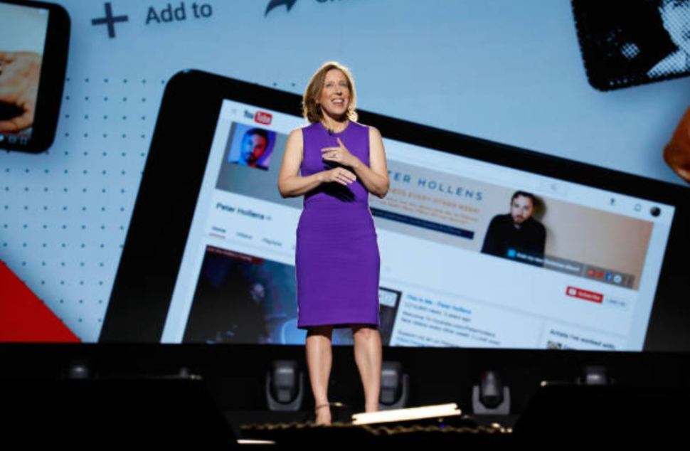 Susan Wojcicki, directora general de YouTube. (Gettyimages)