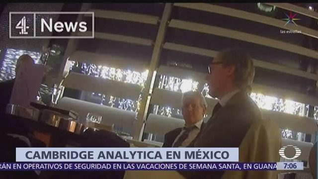 Suspenden al director de Cambridge Analytica, Alexander Nix, por filtración de datos