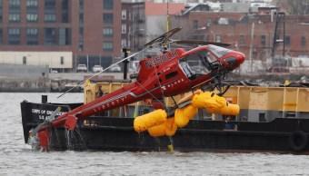 Suspenden vuelos turísticos helicóptero Nueva York