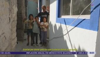 Teletón apoya reconstrucción de escuelas tras sismos de septiembre