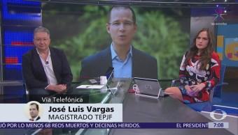 TEPJF, spots y uso de noticias, habla el magistrado José Luis Vargas