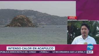 Termómetros Marcan Altas Temperaturas Acapulco
