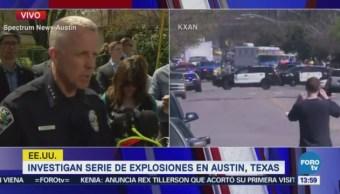 Texas Alerta Explosión Tres Paquetes Explosivos