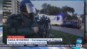 Toma de rehenes en supermercado, en Francia, podría tratarse de acto terrorista