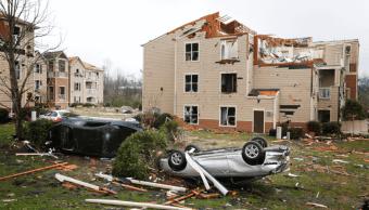 Fuertes tormentas provocan tornados en EU