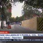 Trabajos de demolición en edificio de la colonia Roma están al 90%