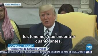 "Trump califica de ""enfermos"" a responsables de ataques con explosivos en Texas"
