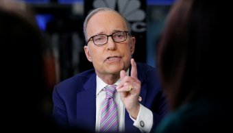 Trump elige comentarista Larry Kudlow como principal asesor económico