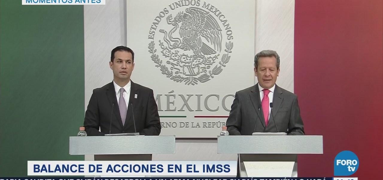 Tuffic Herrera: Saneamiento financiero es el primer objetivo del IMSS