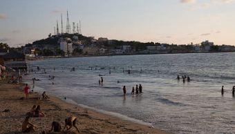 Panorámica de las playas de Sinaloa; turistas llegan a El Maviri, reserva ecológica cerca de Los Mochis. (Gettyimages)