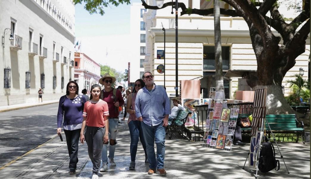 Se registran temperaturas cercanas a los 40 grados en Yucatán