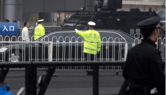 Llegada de tren a Beijing aviva rumor sobre visita de Kim