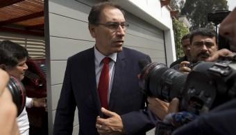 Vicepresidente confirma su regreso Perú jurar como presidente