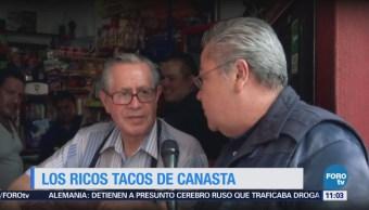 Viernes culinario: Tacos de canasta