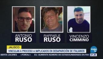 Vinculan a proceso a policías por la desaparición de italianos