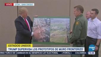 Voy Autorizar Muro Completo Tramos Trump
