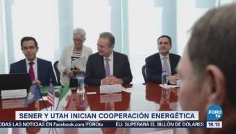 Coldwell Gobernador Utah Dialogan Cooperación Energética